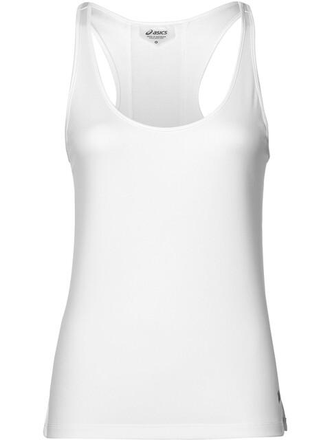 asics Loose Tank Hardloopshirt zonder mouwen Dames wit